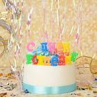 """Картинка Свечи для торта? Капитан Весельчак """"С днем рождения"""" в сети магазинов постоянных распродаж Галамарт"""