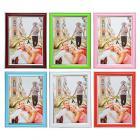 Картинка Фоторамка пластик 10х15см, 6 цветов, D3-6 в сети магазинов постоянных распродаж Галамарт