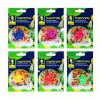 Гидрогель для домашних растений и декора с декоративным цветком, полимерный материал, 13х9х3,