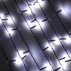 Гирлянда светодиодная Бахрома СНОУ БУМ 96LED, 3x0,7 м, белый, ПВХ провод, 220В