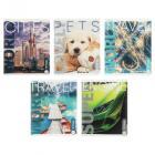 Картинка Тетрадь общая ClipStudio 48 листов в клетку, 10 дизайнов в сети магазинов постоянных распродаж Галамарт