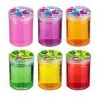 Картинка Слайм с блестками 130гр, полимер, 2-4 цвета в сети магазинов постоянных распродаж Галамарт