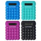 Калькулятор CLIP STUDIO 8-разрядный, 4 цвета