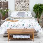 Комплект постельного белья евро PROVANCE поплин 110гр/м, 100% хлопок