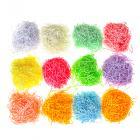 Наполнитель бумажный декоративный, 15 гр, 12 цветов