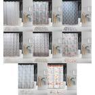 VETTA Шторка для ванной повышенной плотности, полиэстер, жаккард, 180х200 см
