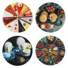Картинка VETTA Тортовница вращающаяся, стекло, d=30 см в магазинах Галамарт - большой выбор самых разных предметов, необходимых на кухне
