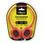 картинка FORZA Наушники накладные проводные, кабель 120см, 4 цвета, пластик магазин Галамарт