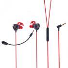FORZA Наушники проводные игровые с микрофоном, металл, 130см, пластик, 2 цвета