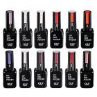 Картинка Гель-лак для ногтей OLYSTYLE, UV, 10мл, 12 цветов в сети магазинов постоянных распродаж Галамарт