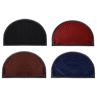 VETTA Коврик в прихожую с резиновой каймой, полиэстер, резина, 50х80см, 4 цвета, CR001 угловые комоды в прихожую