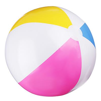 Надувной мяч INTEX 59030 Дольки d. 61 см - 1