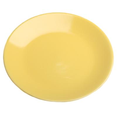 VETTA Анубис Тарелка подстановочная желтая керамика 27см - 1