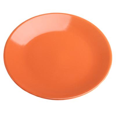 VETTA Атон Тарелка десертная оранжевая керамика 20см - 1