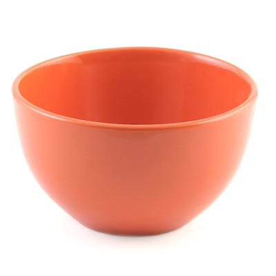 VETTA Атон Тарелка суповая глубокая оранжевая 140мм,750мл керамика - 1