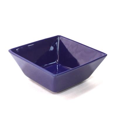 VETTA Энкиду Тарелка суповая квадратная, керамика 19см, синяя - 1