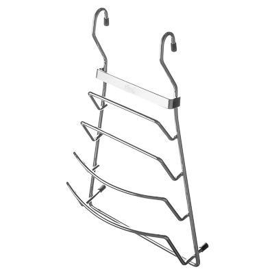 Полка для крышек для посуды на рейлинг 21x11x37 см, VETTA CWJ204A