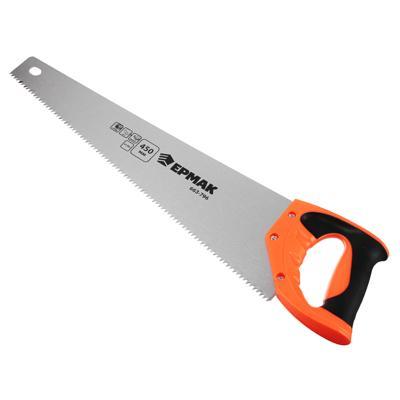 ЕРМАК Ножовка по дереву, 450мм, зуб 5мм.