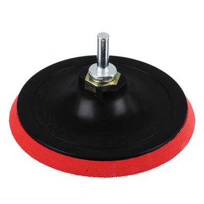 Шлиф круг резиновый с липучкой+переходник 125мм