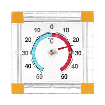 Термометр оконный Биметаллический (-50 +50) картон. блистер, ТББ