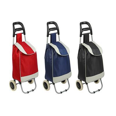 VETTA Тележка + сумка, грузоподъемность до 30кг, брезент, ЭВА, 36х26х94см, колесо d16см, WQ-108