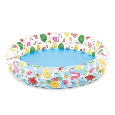 Надувной бассейн для детей INTEX 59421 Круги, Звезды 122x25 см от 2 лет