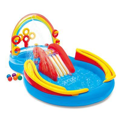 Игровой центр Intex Rainbow Ring Play Center 57453
