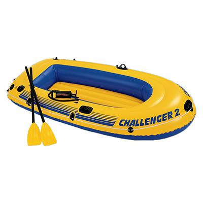 Надувная лодка INTEX 68367 Challenger 2 Set  с аксессуарами до 200 кг