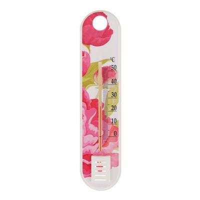 Термометр комнатный Цветок (0..+50) картон. блистер, П-1