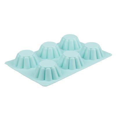 Форма для выпечки кексов VETTA, 25,5x18x3,5 см, силикон