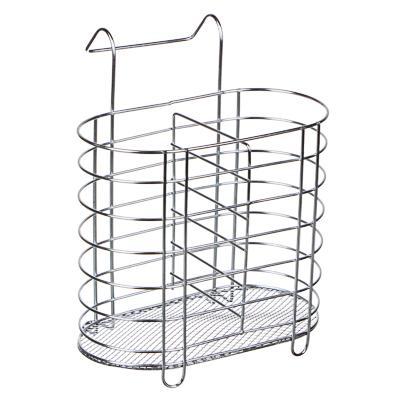 Сушилка для столовых приборов навесная, металл, 16x8х20 см, 844