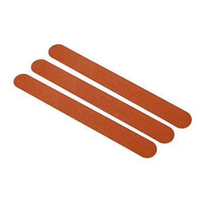 Пилки наждачные для ногтей 2-х сторонние ЮниLook, 240/240 грит, 3 шт, 17,8 см