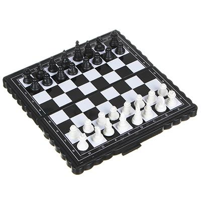 Шахматы магнитные дорожные 13х13см, пластик, металл, A001