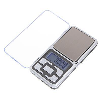VETTA Весы портативные электрон., ЖК-дисплей, макс.нагр. до 500гр, (погр. 0.1 грамм) 2xААА, 12x6см