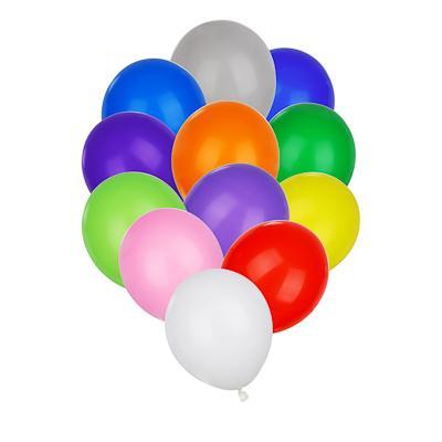 Шары воздушные 25 шт, цветные в пакете