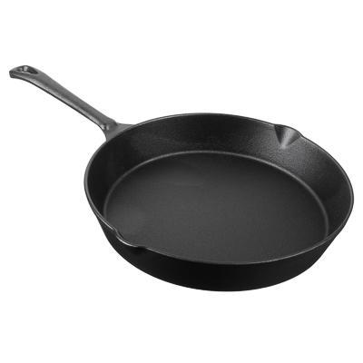 Сковорода чугунная d. 25 см VETTA, 2 слива
