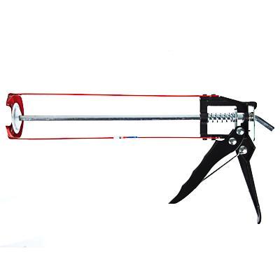 HEADMAN Пистолет усиленный для герметика с мет. фиксатором 225мм скелетный