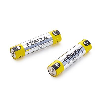 Батарейки щелочные, 2 шт, тип AAA (LR03), BL, FORZA