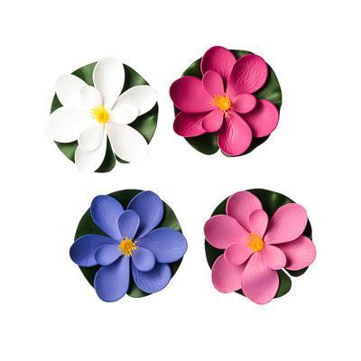 INBLOOM Лилия декоративная для пруда, ПВХ, 15см, 12 цветов