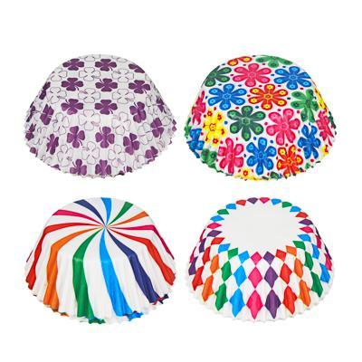 Формы для кексов/маффинов бумажные, d5 см, h3,2 см, 24 шт,