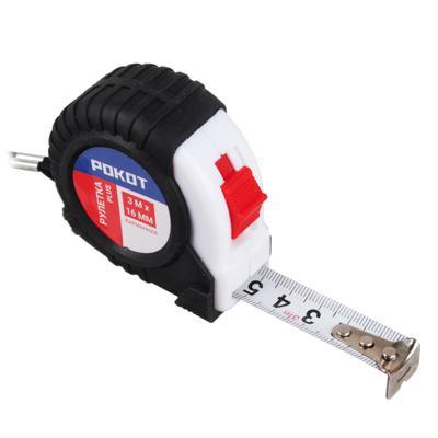 FALCO Рулетка карманная PLUS (3м х 16мм)