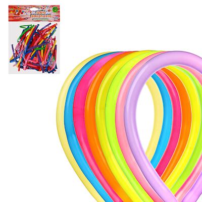Шары воздушные для моделирования 50шт, латекс, d4,5см, 135-140см, цветные