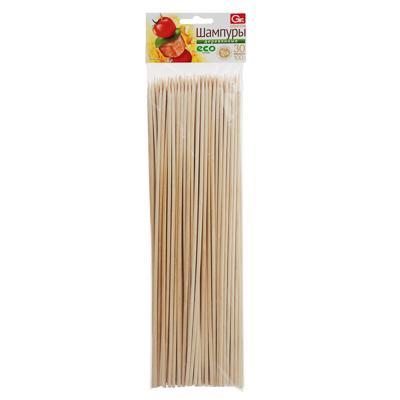 Шампуры деревянные 100 шт, 30 см, GRIFON