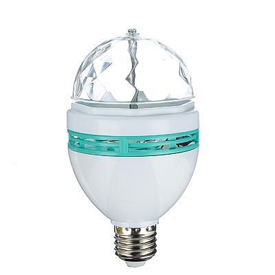 FORZA Лампочка-проектор вращающаяся, E27, 15см