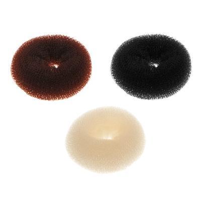 Заколка-бублик для волос с липучками BERIOTTI, d.8 см