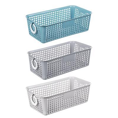 Блок для хранения мелочей, пластик, 20x11x7 см, 3 цвета,