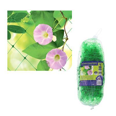 Сетка садовая для вьющихся растений, пластик, 2х10 м, зел., размер ячейки 15х15 см, 30х12х12, INBLOO