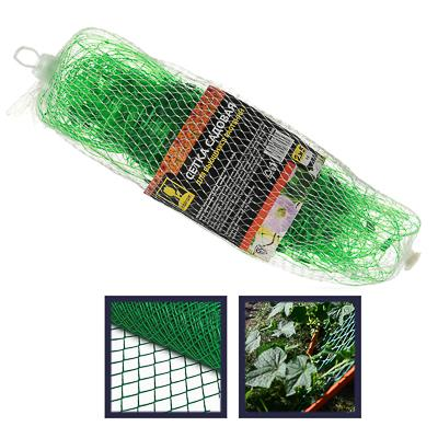 Сетка садовая для вьющихся растений, пластик, 2х5 м, зеленая, размер ячейки 15х15 см, 27х10х10, INBL