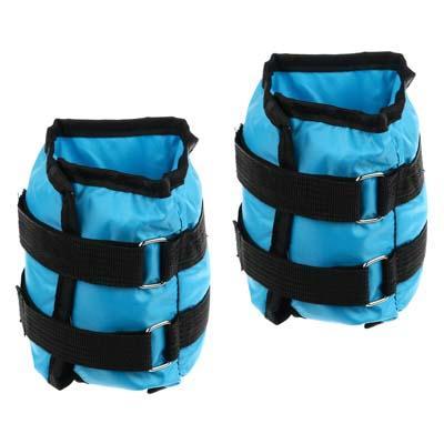 Набор утяжелителей для рук и ног текстильный, вес 2,0 кг(+-90 гр), 2 штх1 кг, 33х14 см, 2 цвета, SIL