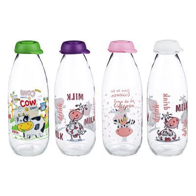 Бутылка для молока 1000 мл, стекло, HEREVIN